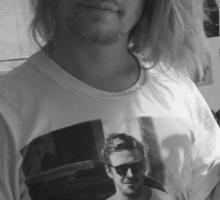 Macaulay Culkin Wearing Gosling Wearing Self Sticker