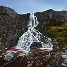Quartzite Falls - Cradle Mountain N.P. by Mark Shean