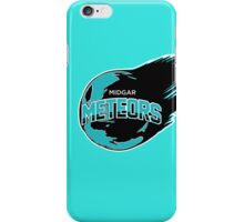 Midgar Meteors (Turquoise) iPhone Case/Skin