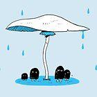 Shelter of mushroom by taichi