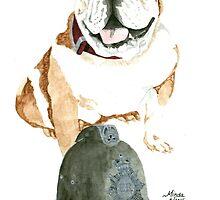 Daily Doodle 36 - Tribute - Nigel by ArtbyMinda