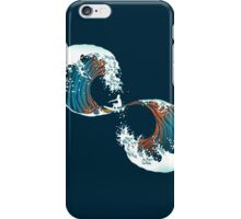 the wave is forever iPhone Case/Skin