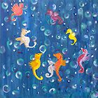 Sea Horse abstract by trossi