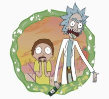 Rick and Morty a hundred years! by creakybridge