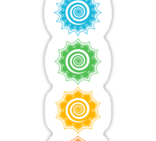 7 Chakras - Cosmic Energy Centers  Sticker