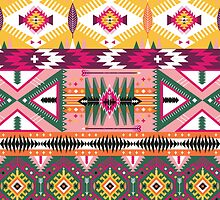 Navajo tribal pattern  by tomuato