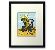 Nazca Tree Earthbound God Framed Print