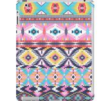 Navajo colorful  tribal pattern iPad Case/Skin