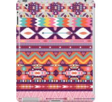 Colorful  native american  pattern with geometric elements iPad Case/Skin