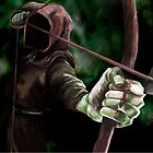 Robin the Hooded Man by ImogenSmid