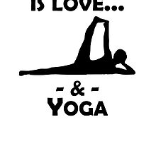 Love And Yoga by kwg2200