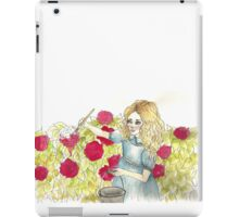 We're Painting The Roses Red iPad Case/Skin