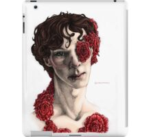 """Organic"" - sherlock portrait, full colour version iPad Case/Skin"