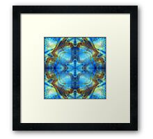 Frequency Resonance Reality Framed Print