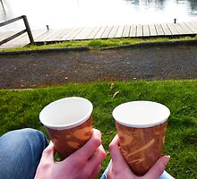 Mr and Mrs Tea by the Lough by MrsTeaShirt