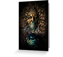 The Stone Sorcerer Greeting Card