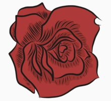 Inked Rose by jackfords