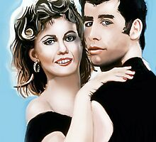 John and Olivia Newton-John by Nornberg77