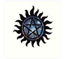 Anti possession symbol Art Print