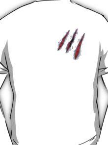 claw ripped - wolverine - Godzilla - dinosaur - etc T-Shirt