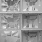 Polystyrene Cybie Cat Box. by - nawroski -