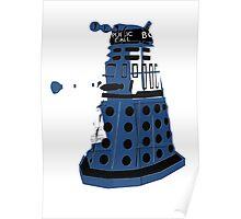 Tardis Dalek  Poster
