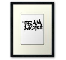 Cool Team Hangover Graffiti Framed Print