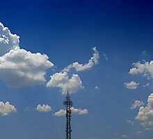 ©HCS Spring Clouds And Tower IA by OmarHernandez