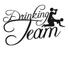 Cool Drinking Team Design by Style-O-Mat