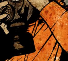 Leroy And The Five Dancing Skulls Of Doom Sticker