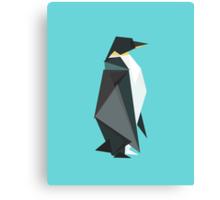 fractal geometric emperor penguin Canvas Print