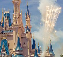 cinderella castle.  by dkelly1126