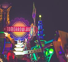 tomorrowland.  by Diana Kelly