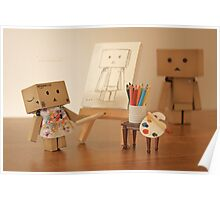Danbo found being painted in the nude, to be a very liberating experience Poster