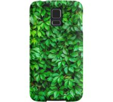 Lush Green Hedge Background Samsung Galaxy Case/Skin