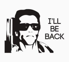 I'll be back arnold schwarzenegger by g7visuals