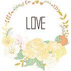 Love wreath by yaskii