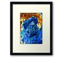 Cracked Astronaut Framed Print