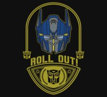 Optimus roll out emblem by Buby87
