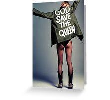 Kate Moss Greeting Card