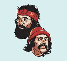 Cheech and Chong pillow by Cloxboy