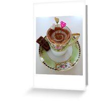 Tea time treat Greeting Card
