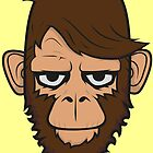 Monkey Hipster Beard by EmilioPereiro