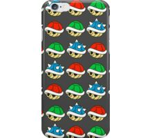 Mario Kart Items- Shells iPhone Case/Skin