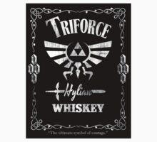 Triforce Whiskey STICKER! by Punksthetic