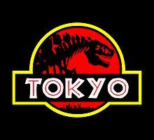 Godzilla Park - Tokyo by RichFoxStudios