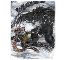 Werebear Battle Poster