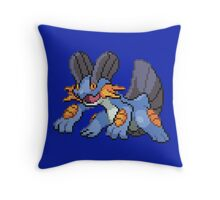 Swampert Throw Pillow