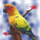 The parrot by mink813