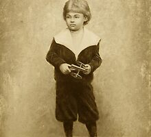 The Boy With a Toy by vardanaslanyan